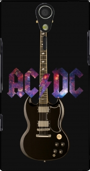AcDc Guitare Gibson Angus Case for Sony Ericsson Xperia S HD