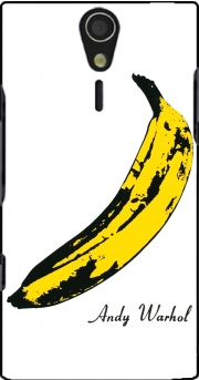 Andy Warhol Banana Case for Sony Ericsson Xperia S HD