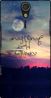 Anything could happen Case for Sony Ericsson Xperia S HD