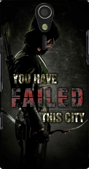 Arrow you have failed this city Case for Sony Ericsson Xperia S HD