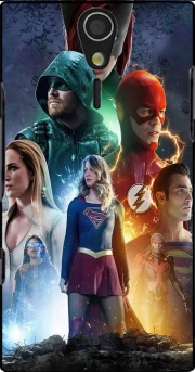 Arrowverse fanart poster Sony Ericsson Xperia S HD Case