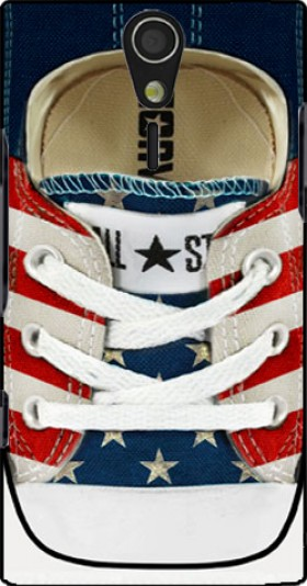 Case All Star Basket shoes USA for Sony Ericsson Xperia S HD