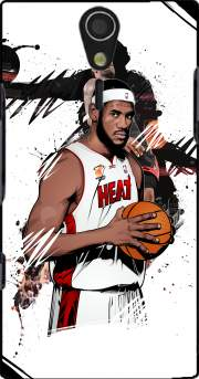Basketball Stars: Lebron James Case for Sony Ericsson Xperia S HD