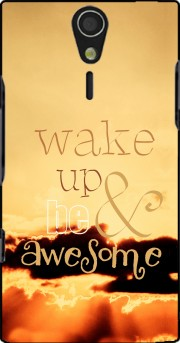 Be awesome Sony Ericsson Xperia S HD Case