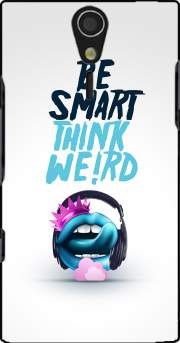 Be Smart Think Weird 2 Case for Sony Ericsson Xperia S HD