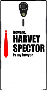 Beware Harvey Spector is my lawyer Suits Sony Ericsson Xperia S HD Case