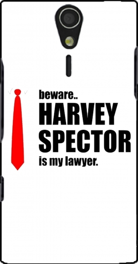 Case Beware Harvey Spector is my lawyer Suits for Sony Ericsson Xperia S HD