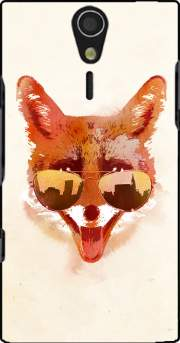 Big Town Fox Case for Sony Ericsson Xperia S HD