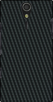 Carbon schwarz Case for Sony Ericsson Xperia S HD