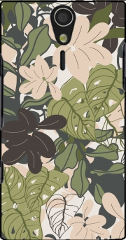 BOHEMIAN TROPICAL FOLIAGE Sony Ericsson Xperia S HD Case