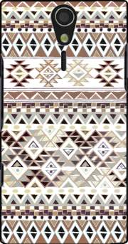 BROWN TRIBAL NATIVE Case for Sony Ericsson Xperia S HD