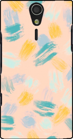 Case BRUSH STROKES for Sony Ericsson Xperia S HD