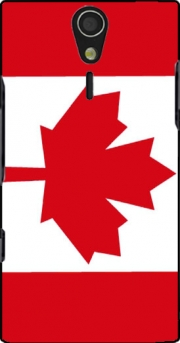 Flag Canada Case for Sony Ericsson Xperia S HD