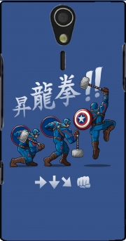 Captain America - Thor Hammer Case for Sony Ericsson Xperia S HD