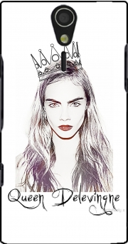 Cara Delevingne Queen Art Case for Sony Ericsson Xperia S HD