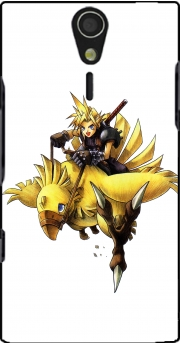 Chocobo and Cloud Case for Sony Ericsson Xperia S HD