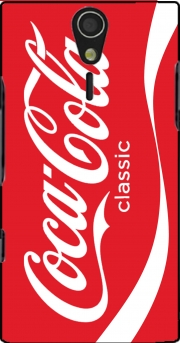 Coca Cola Rouge Classic Case for Sony Ericsson Xperia S HD