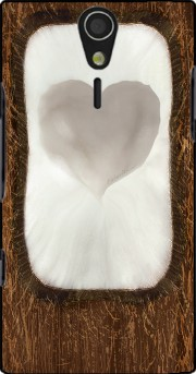 Coconut love Case for Sony Ericsson Xperia S HD
