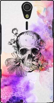 Color skull Case for Sony Ericsson Xperia S HD