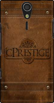 cPrestige leather wallet Case for Sony Ericsson Xperia S HD
