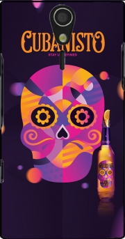 Cubanisto calavera Case for Sony Ericsson Xperia S HD
