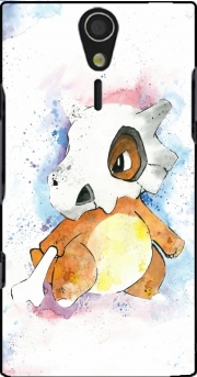 Cubone Watercolor Case for Sony Ericsson Xperia S HD