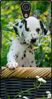 Cute Dalmatian puppy in a basket  Case for Sony Ericsson Xperia S HD