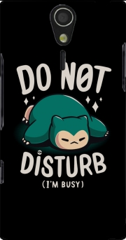 Do not disturb im busy Case for Sony Ericsson Xperia S HD