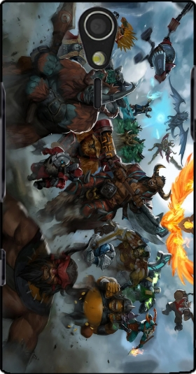 Case Dota 2 Fanart for Sony Ericsson Xperia S HD