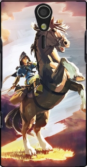 Epona Horse with Link Sony Ericsson Xperia S HD Case