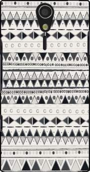 Ethnic Candy Tribal in Black and White Case for Sony Ericsson Xperia S HD