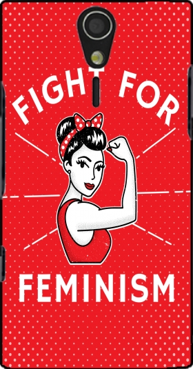 Case Fight for feminism for Sony Ericsson Xperia S HD