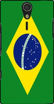 Flag Brasil Case for Sony Ericsson Xperia S HD