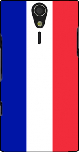 Case Flag France for Sony Ericsson Xperia S HD