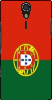 Flag Portugal Case for Sony Ericsson Xperia S HD