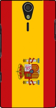Flag Spain Case for Sony Ericsson Xperia S HD