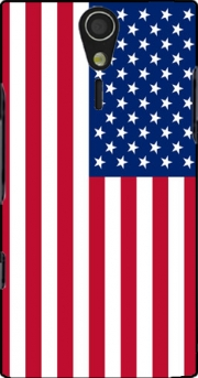 Flag United States Case for Sony Ericsson Xperia S HD
