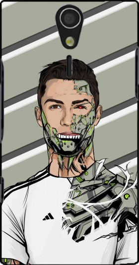 Case Football Legends: Cristiano Ronaldo - Real Madrid Robot for Sony Ericsson Xperia S HD