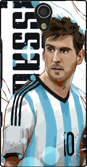 Case Football Legends: Lionel Messi World Cup 2014 for Sony Ericsson Xperia S HD