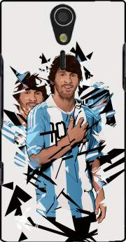 Football Legends: Lionel Messi Argentina Case for Sony Ericsson Xperia S HD