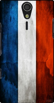 Flag France Vintage Case for Sony Ericsson Xperia S HD