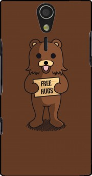 Free Hugs Case for Sony Ericsson Xperia S HD