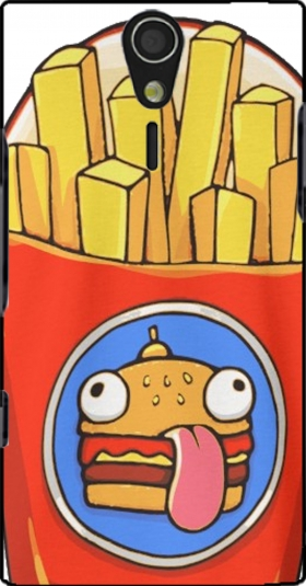 Case French Fries by Fortnite for Sony Ericsson Xperia S HD
