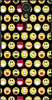 funny smileys Case for Sony Ericsson Xperia S HD