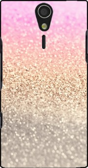 Gatsby Glitter Pink Case for Sony Ericsson Xperia S HD