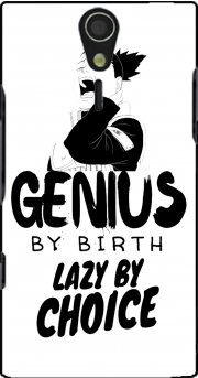Genius by birth Lazy by Choice Shikamaru tribute Sony Ericsson Xperia S HD Case