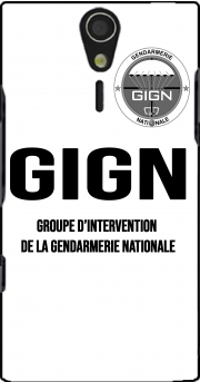 GIGN groupe dIntervention de la gendarmerie Classic Case for Sony Ericsson Xperia S HD