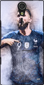 Giroud The French Striker Sony Ericsson Xperia S HD Case