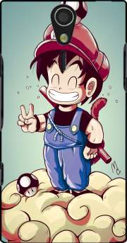 Goku-mario Case for Sony Ericsson Xperia S HD