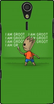 Groot Detention Case for Sony Ericsson Xperia S HD